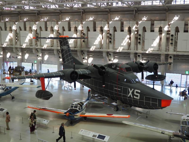 かかみがはら航空宇宙科学博物館 UF-XS 実験飛行艇