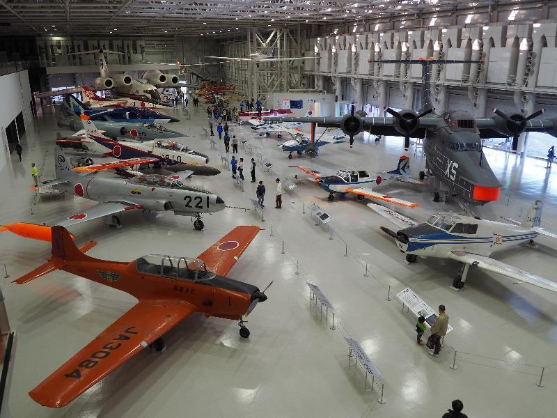 かかみがはら航空宇宙科学博物館 航空エリア 全体