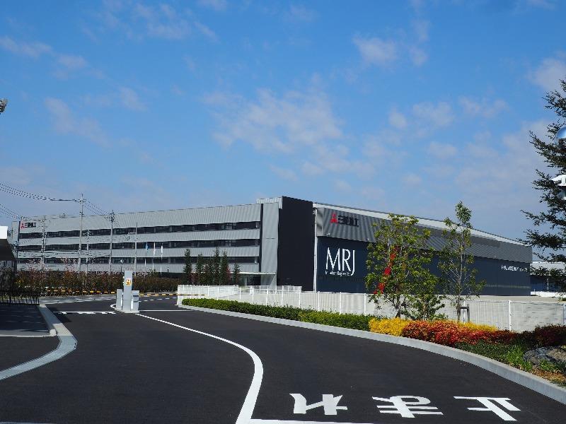 名古屋航空宇宙システム製作所 小牧南工場 MRJ最終組立工場
