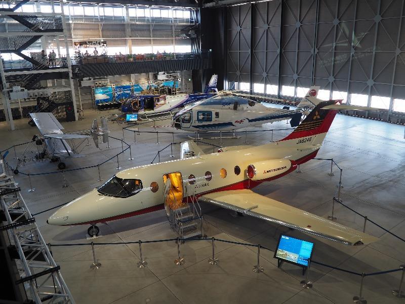 あいち航空ミュージアム 三菱重工 MU-300