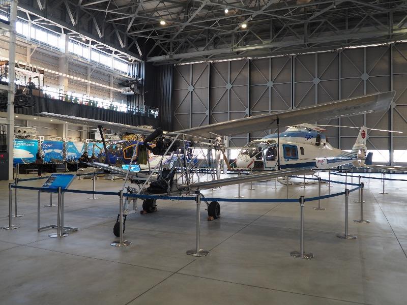 あいち航空ミュージアム 名古屋市立工業高等学校 八○式フライヤー