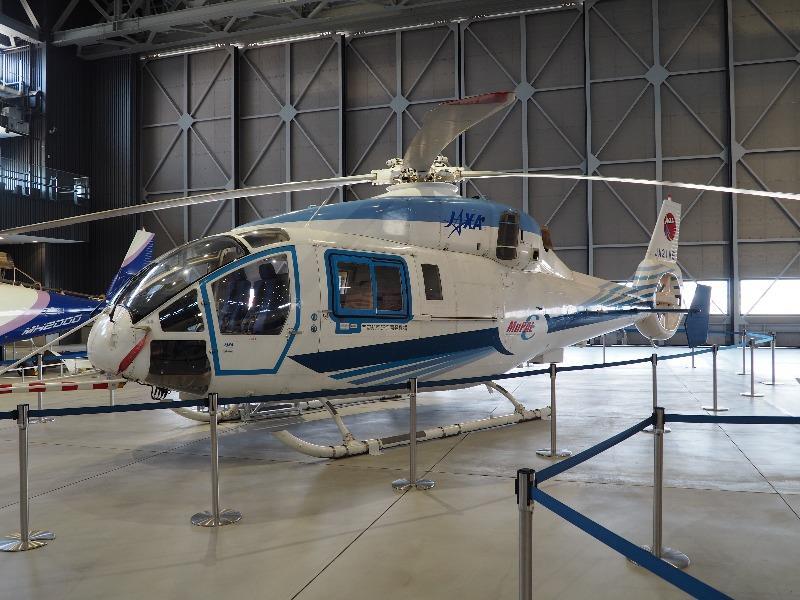 あいち航空ミュージアム 三菱重工業 MH2000(JAXA)