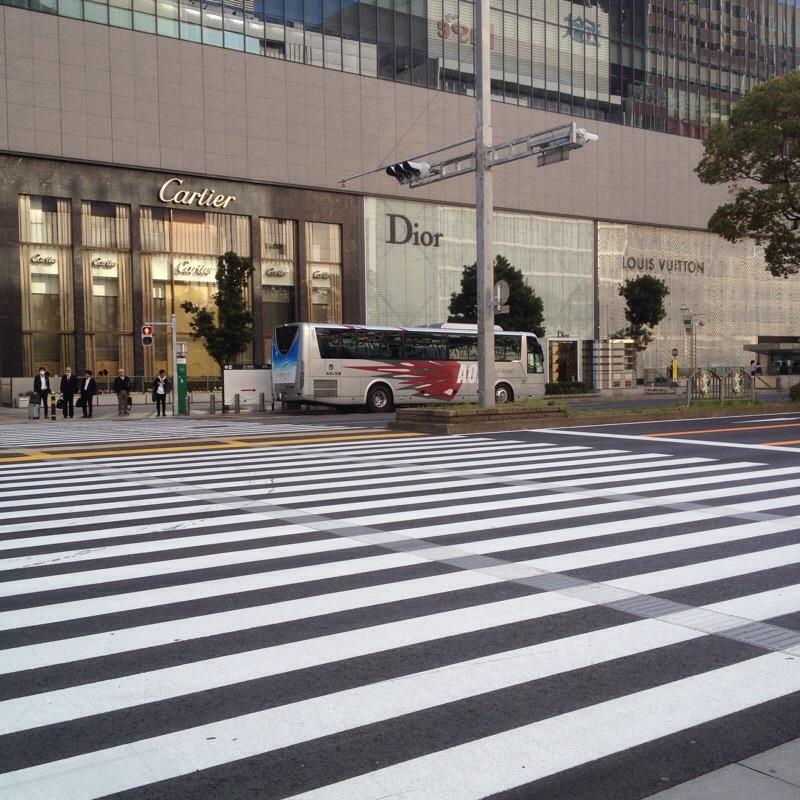 名古屋駅 あおい交通 空港バス(ミッドランドスクエア前)