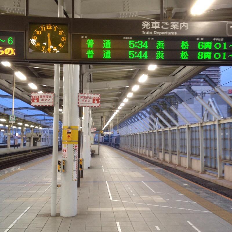 JR岐阜駅 1-2番線のりば