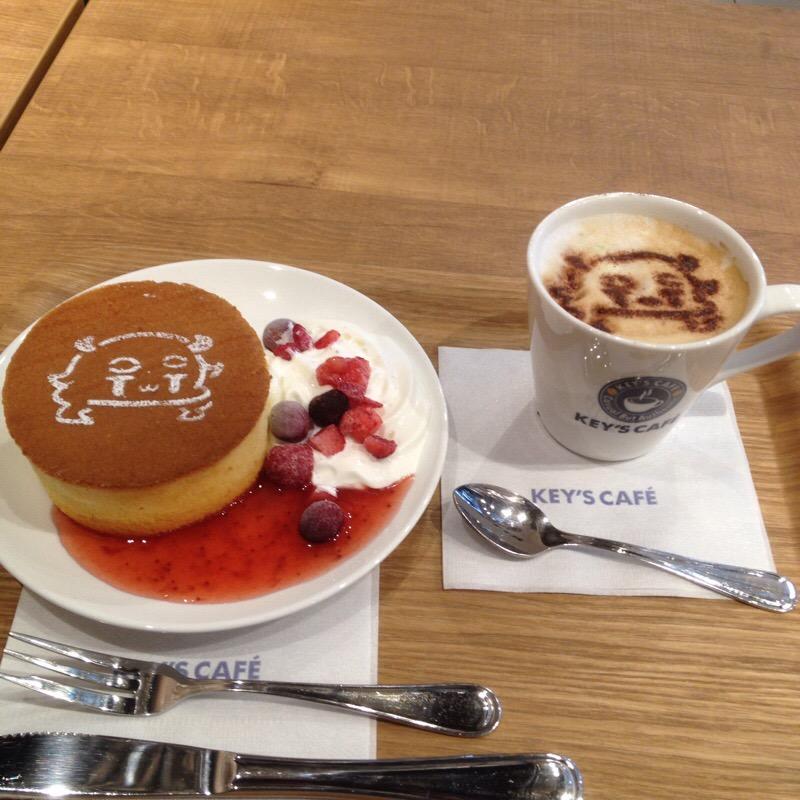 ビックカメラ 名古屋JRゲートタワー店 KEY'S CAFE なごやげーとたん誕生日ケーキ&ラテアート