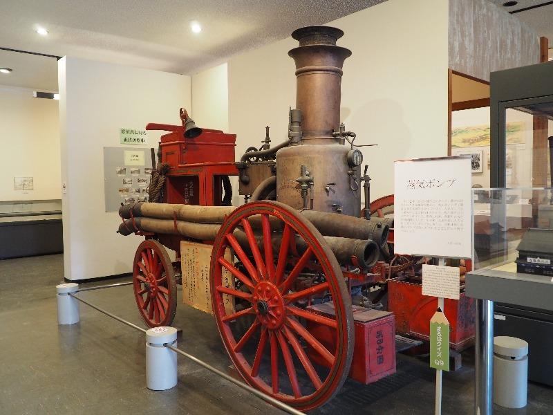 松本市立博物館 蒸気ポンプ