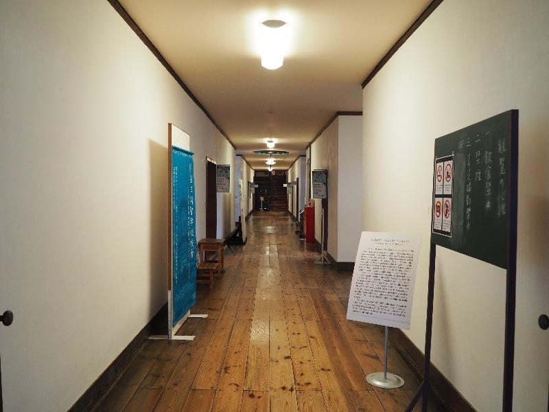 旧開智学校 廊下