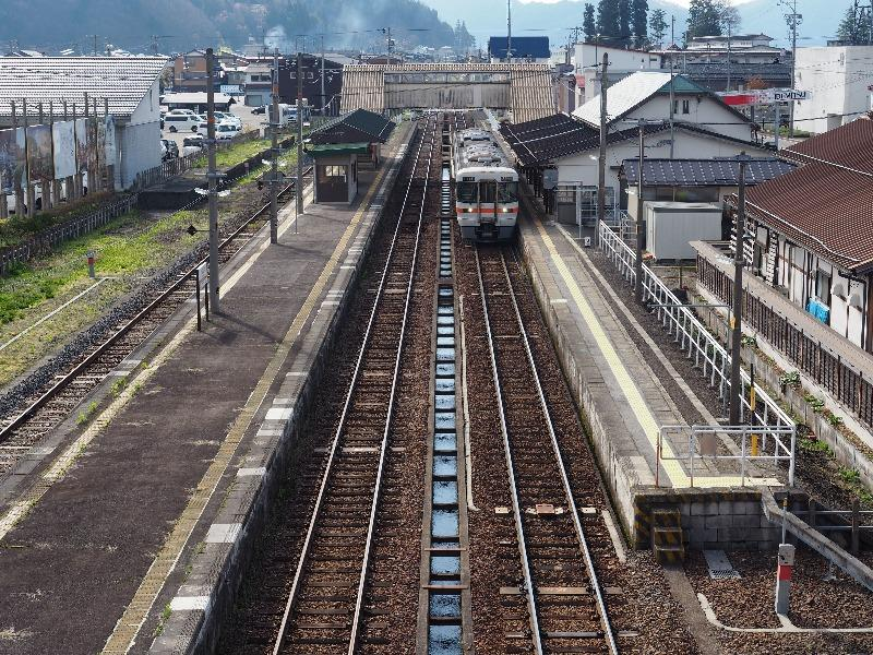 飛騨古川駅 北側跨線橋