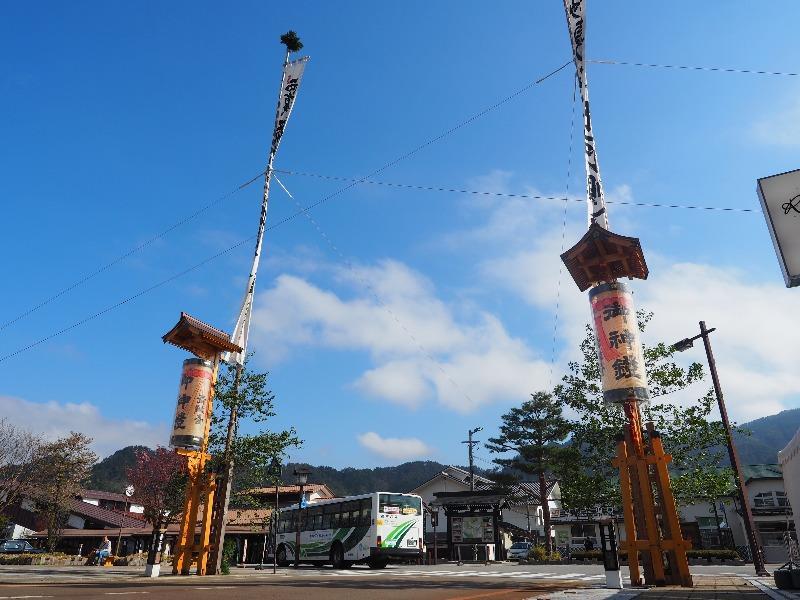 飛騨古川駅 のぼり