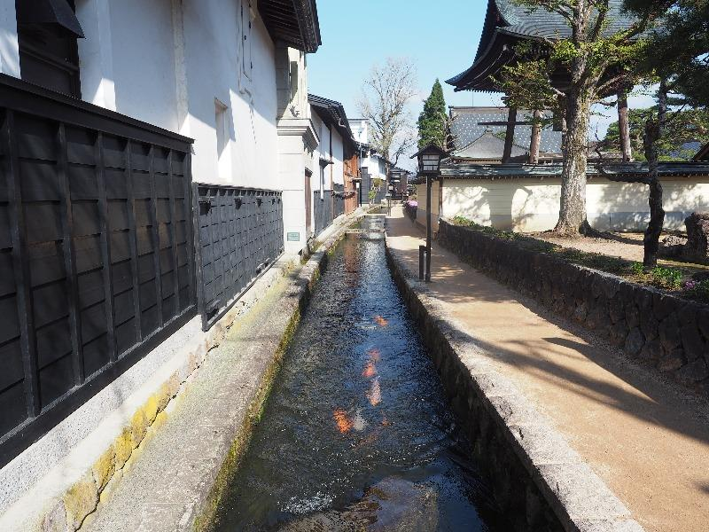 瀬戸川と白壁土蔵街(2)