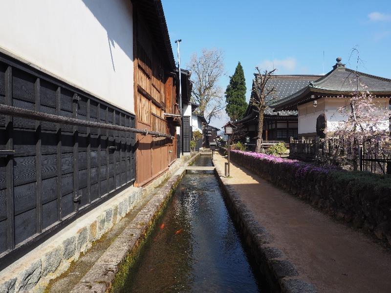 瀬戸川と白壁土蔵街(3)