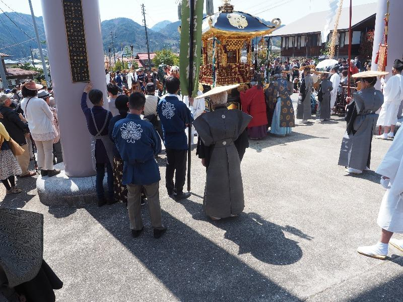 気多若宮神社 神幸祭 御神輿御巡行(2)