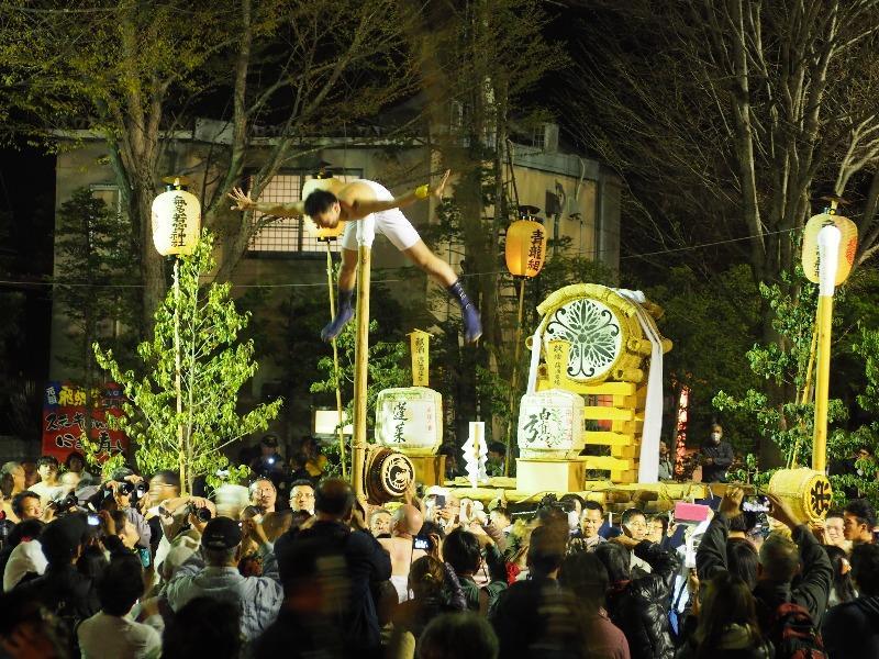 まつり広場 夜祭(1)