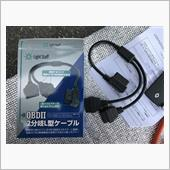ドライブレコーダー取付・レーダー探知機仮配置の画像