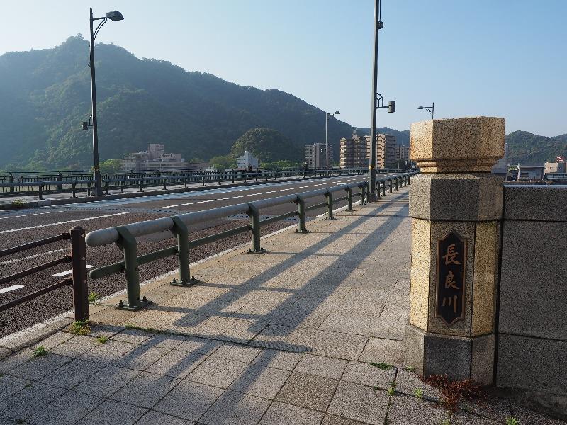長良橋から岐阜城(左上)(1)