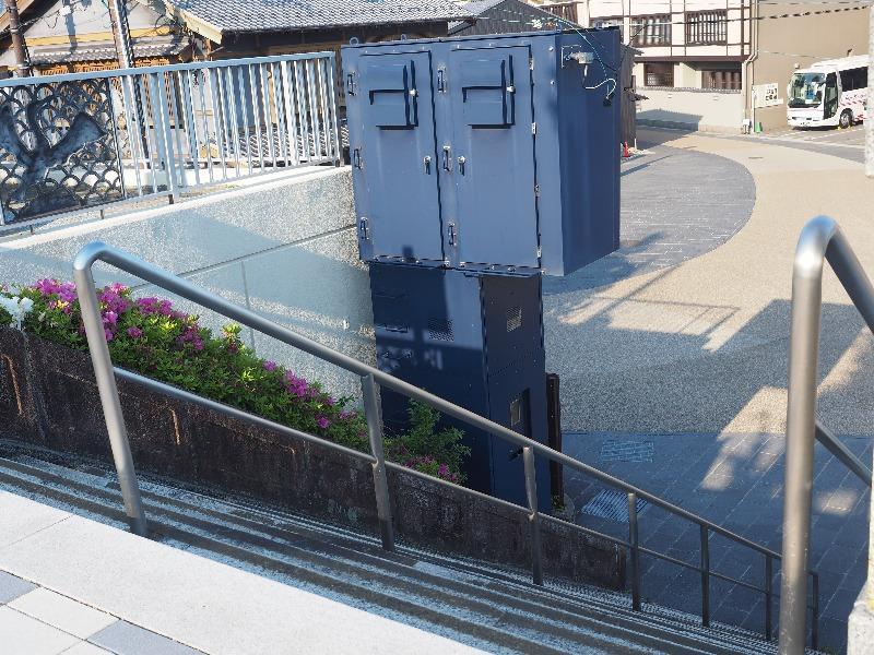 長良橋 鵜飼観覧線乗り場 階段(2)