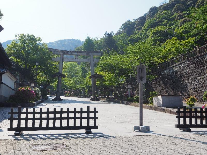 伊奈波神社 鳥居
