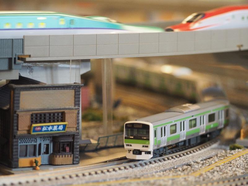鉄道カフェはるか JR東日本 山手線 Nゲージ
