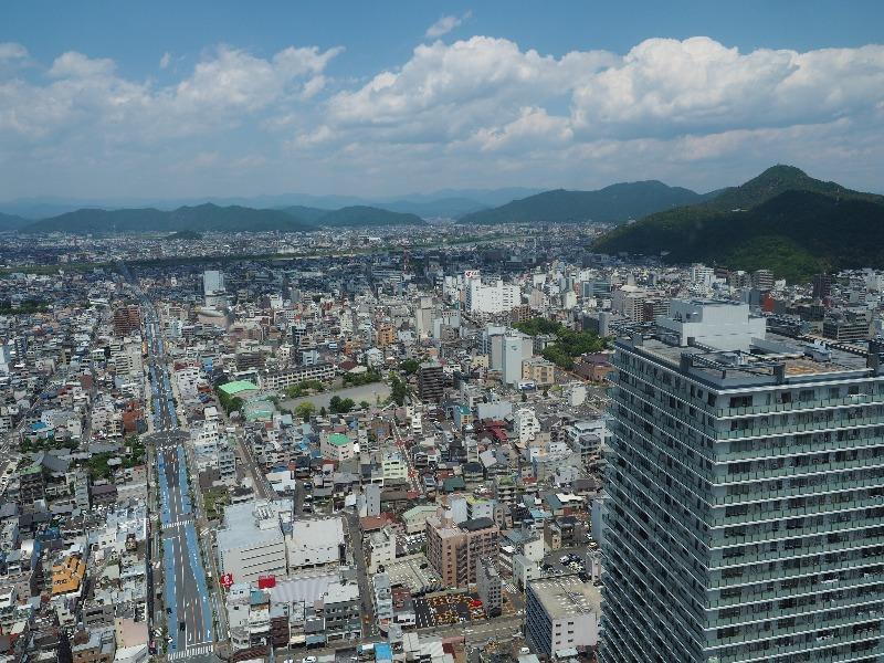 シティ・タワー43 スカイラウンジ展望室 北(岐阜スカイウイング37・金華山)