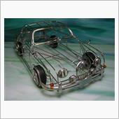 Wire Skeleton models Jaguar MK2