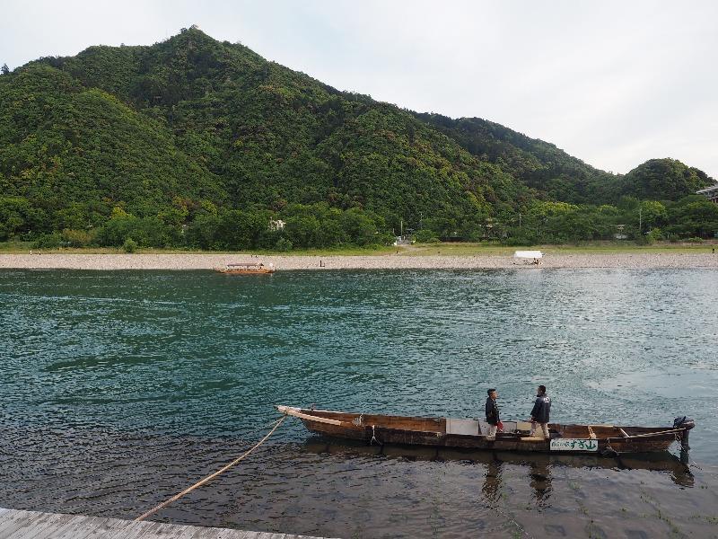 長良川プロムナード 鵜舟(3)