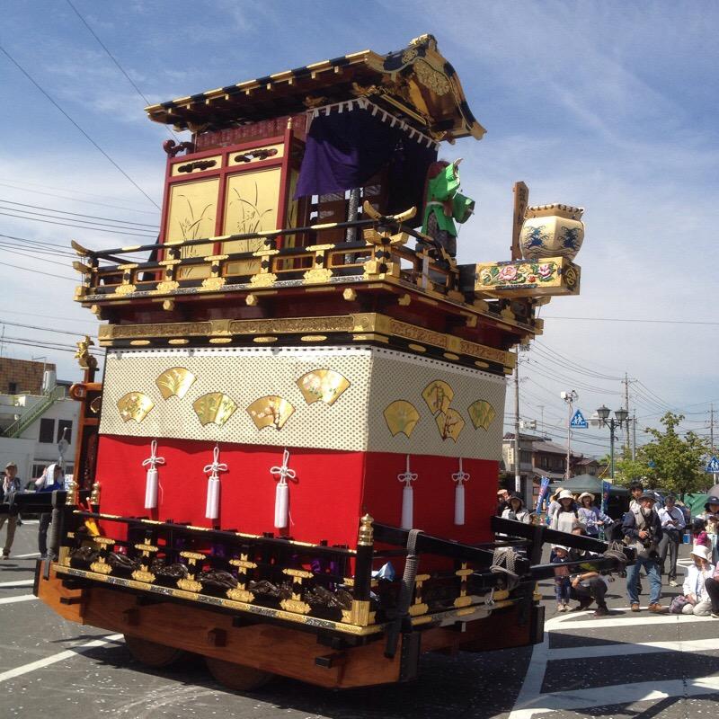 八幡神社 奉芸 全13輛 猩々やま