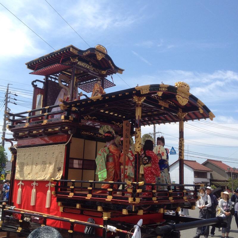 八幡神社 奉芸 全13輛 松竹やま(2)