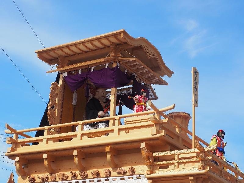 八幡神社 奉芸 全13輛 布袋やま