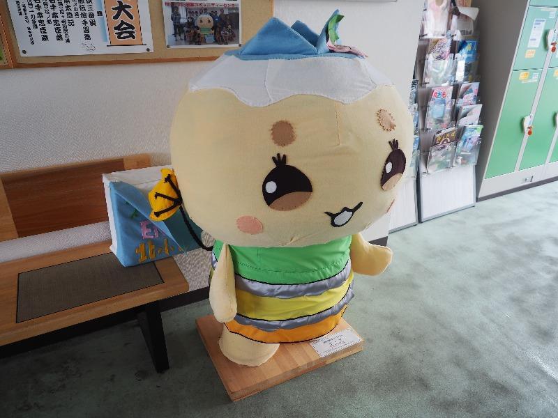 明知鉄道 恵那駅 恵那市公式キャラクター「エーナ」