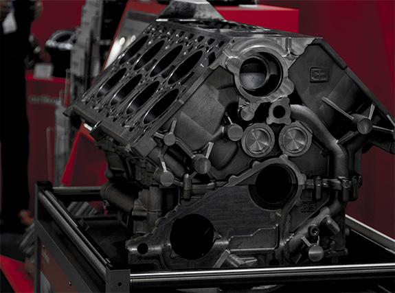 Bugatti Veyron EB 16.4 W16 Engine Case ブガッティ・ヴェイロンEB16.4のW16エンジンブロック