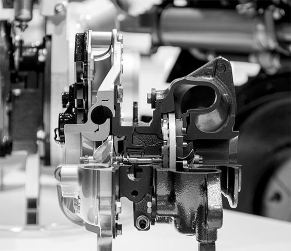 豊田自動織機 GDエンジン用可変ノズルターボチャージャー VGターボ