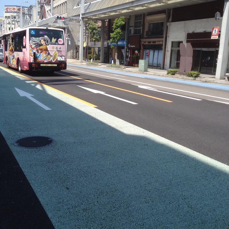 神田町4丁目 長良橋通り 柳バス(濃姫バス)