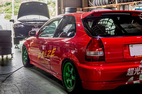 ASLAN アスラン Honda ホンダ Civic シビック EK9