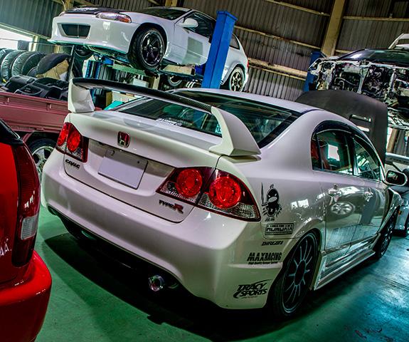 ASLAN アスラン Honda ホンダ Civic シビック FD2