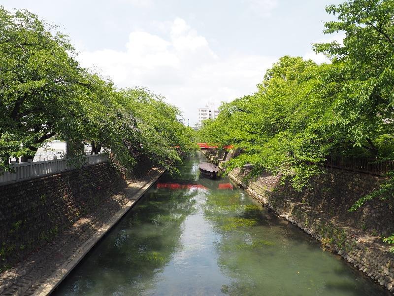 四季の路 水門川