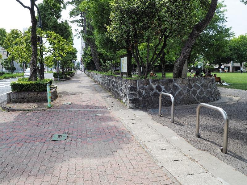 聲の形 舞台探訪 大垣公園 南側歩道