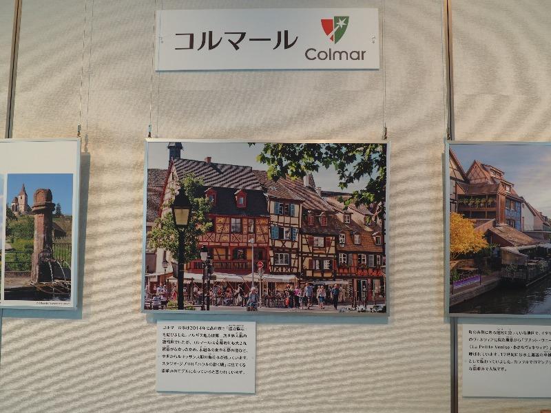 岐阜県図書館 フランス アルザス展 コルマール