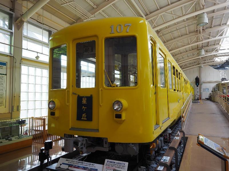 レトロでんしゃ館 名古屋市交通局 地下鉄100型(107号車)