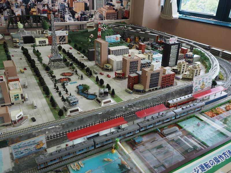 市営交通資料センター 鉄道模型ジオラマ 鶴舞線
