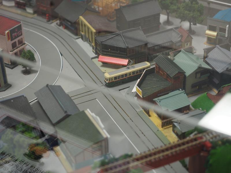 市営交通資料センター 懐かしい名古屋市電と市バスのジオラマ