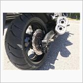 Vmax17 タイヤ交換