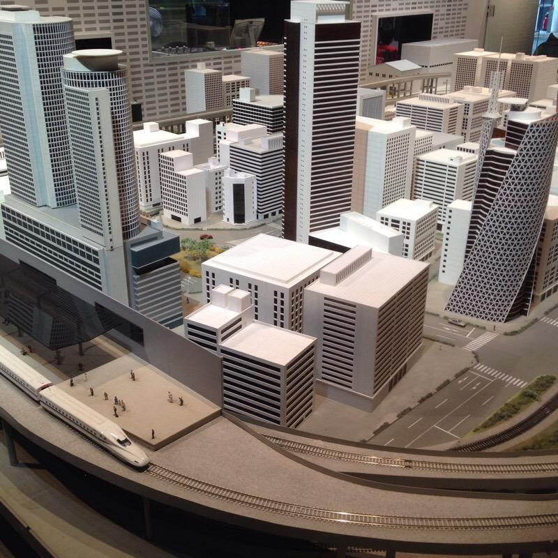 名古屋市科学館 理工館 3階「技術のひろがり」モノづくり都市パノラマ