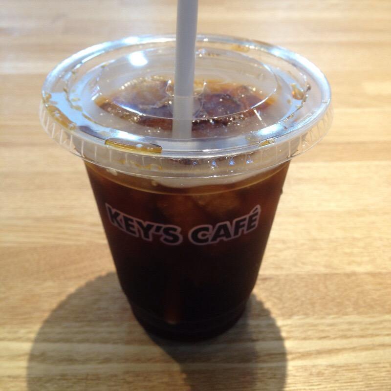 ビックカメラ 名古屋JRゲートタワー店 KEY'S CAFE アイスコーヒー