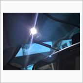 ダッシュパネルにLED(エーモン工業 サイドビューLED(白)
