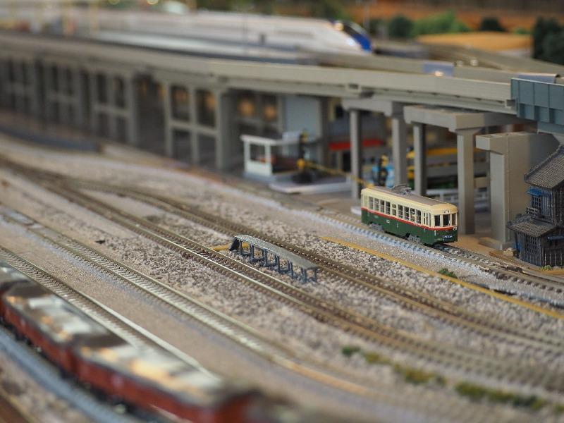 鉄道カフェはるか 鉄道コレクション 名古屋市交通局 1400型+TM-TR01(3)