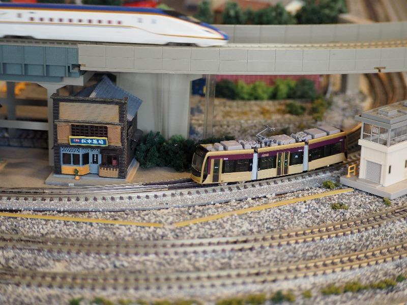 鉄道カフェはるか 鉄道コレクション 阪堺電気軌道1001形「紫おん」+TM-LRT02(1)