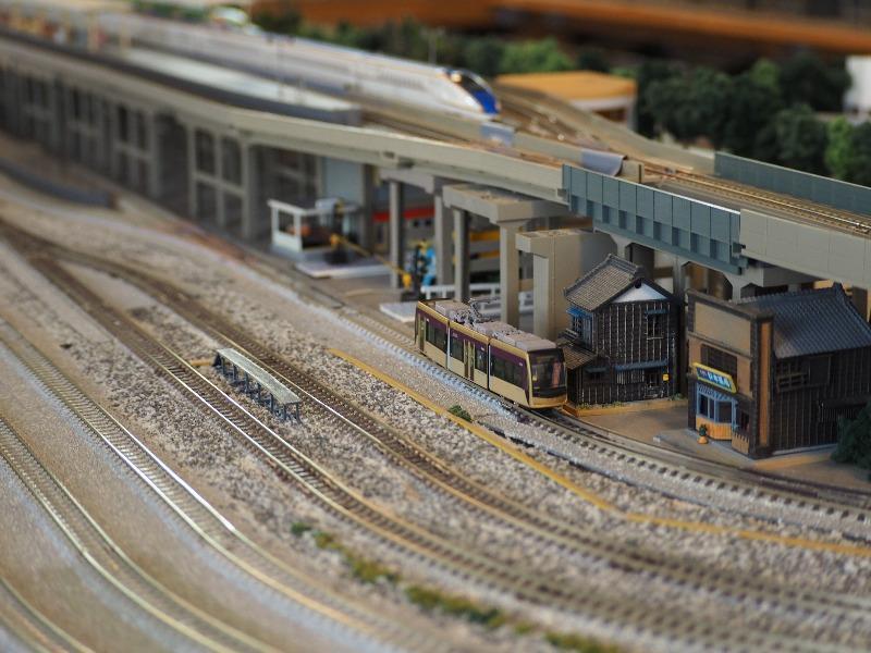 鉄道カフェはるか 鉄道コレクション 阪堺電気軌道1001形「紫おん」+TM-LRT02(3)