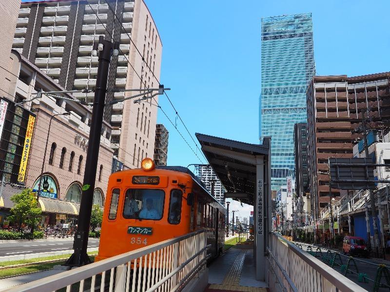 阪堺電軌 阿倍野駅 モ354