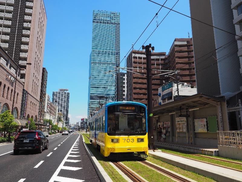阪堺電軌 阿倍野駅 モ703