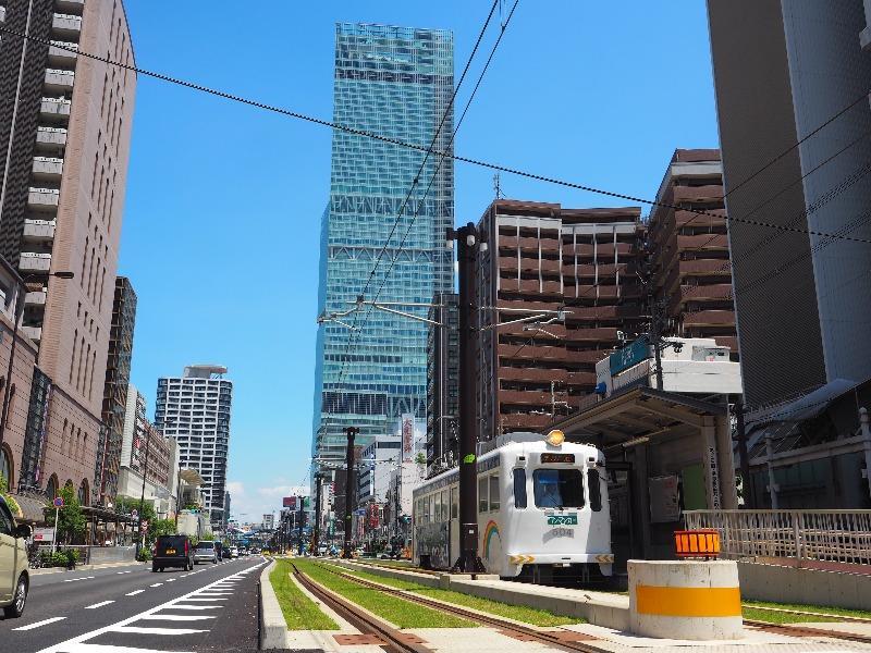 阪堺電軌 阿倍野駅 モ504